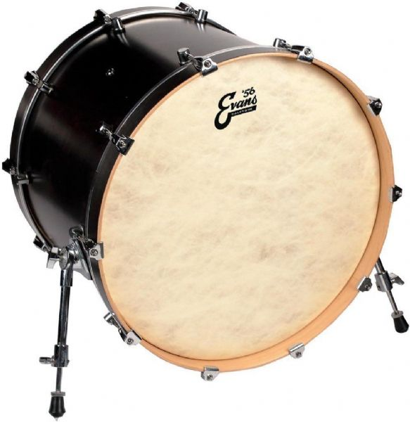 Evans 24 inch Calftone Bass Drum Head - BD24CT